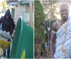 Африканский король работает в Канаде садовником. Чтобы собрать денег для народа